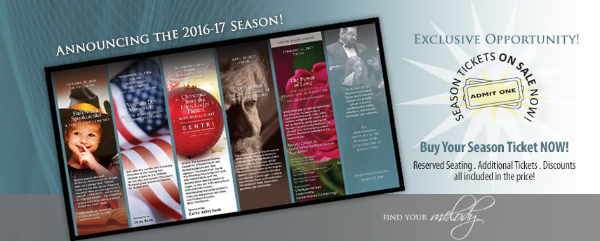 2016-17 Season Tickets - On Sale